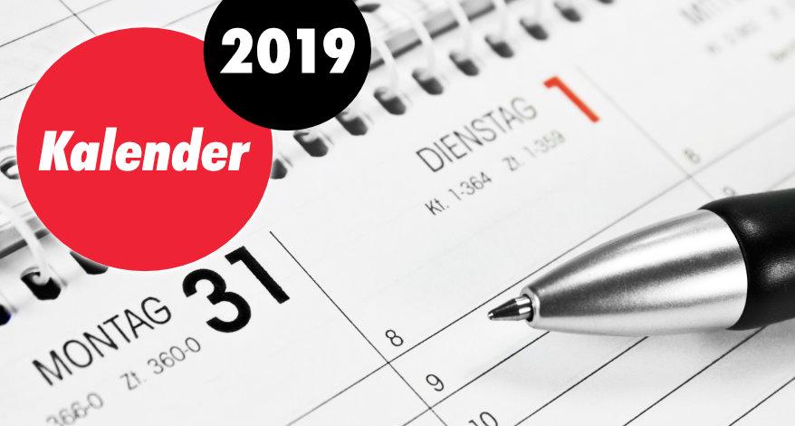 Kalender 2019 Buro Emig